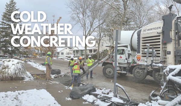 Cold Weather Concrete - Featured Image