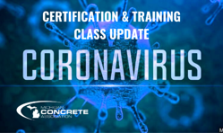 Copy of CERTIFICATION TRAINING CLASS UPDATE