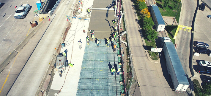 18. Ambassador Bridge Grid Replacement